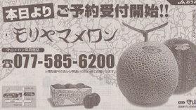 Moriyama_melon2006