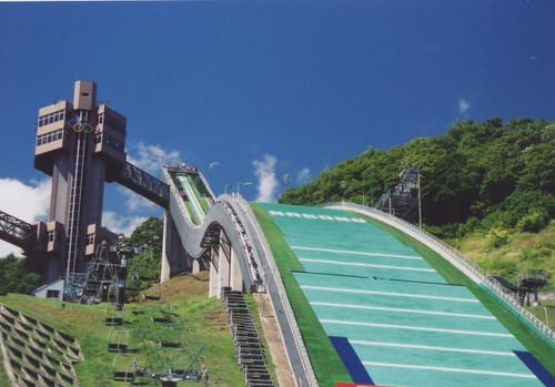夏のジャンプ台@長野県白馬