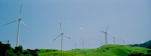 風力発電所@南阿蘇