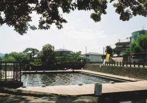 熊本の「湧水プール」