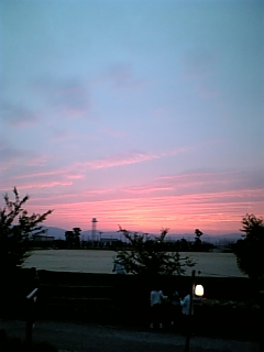 夕焼け空(2006/06/10)