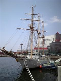 【大阪】帆船「あこがれ」