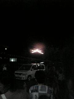 【京都】五山の送り火(<br />  左大文字)