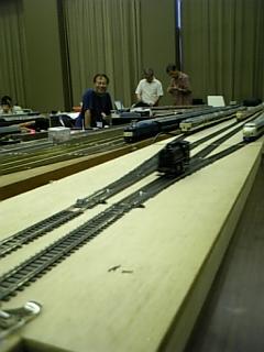 鉄道模型走行会にてその2