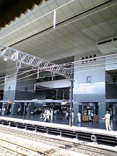 京都駅ゼロ番ホーム