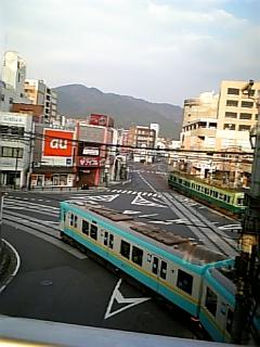 【滋賀】浜大津駅の朝