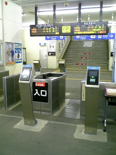 【滋賀】JR<br />  近江今津駅