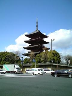 【京都】東寺・五重塔