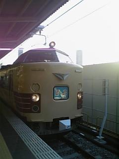 JR大阪駅10<br />  番線にて