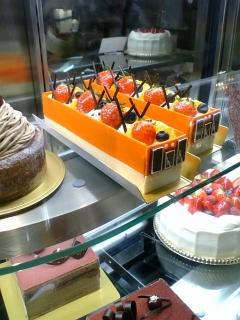 阪神電車ケーキ