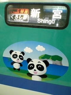The Panda Express (勝手に命名)