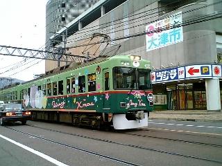 クリスマス電車