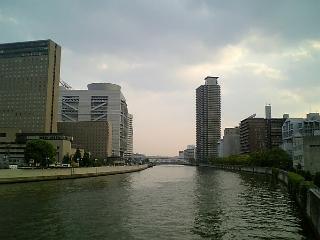 【大阪】玉江橋からの眺め