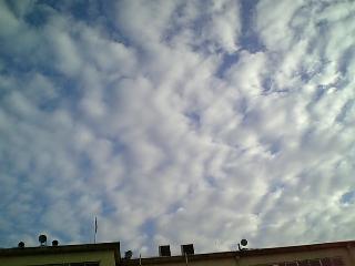 7月20日、朝の空