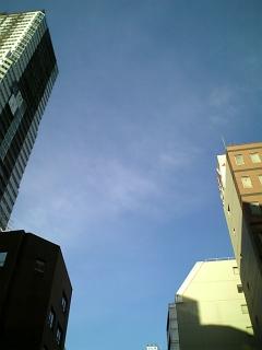 8月15日、大阪の空
