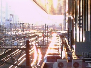 夕方@京都駅