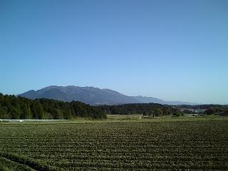 【滋賀】比良山系遠望