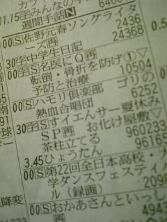 NHK教育が…