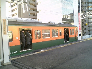 7時47分発京都行き