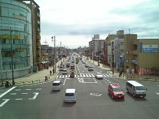 【京都】九条油小路交差点