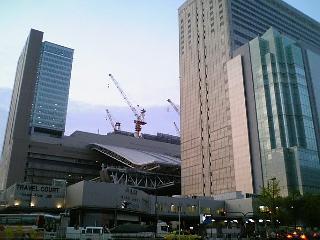 JR大阪駅あたり