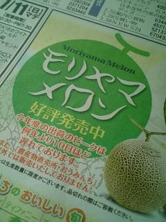 モリヤマメロン2010 <br />   #shiga