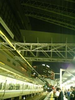 JR大阪駅なう