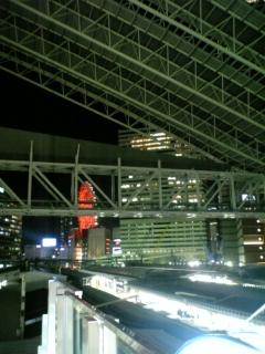 暫定的新通路開通@JR<br />  大阪駅