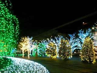 【京都】京セラ本社のイルミネー