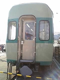 懐かしい電車とご対面